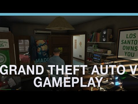 GTA 5 first-person gameplay footage with Digital Spy'