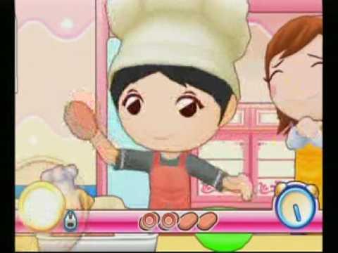 hamburger cooking mama world kitchen nintendo wii youtube