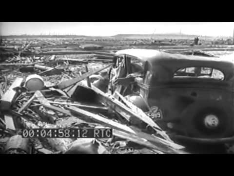 Wreckage Caused By Ammo Explosion, Port Chicago, California, 07/17/1944 (full)