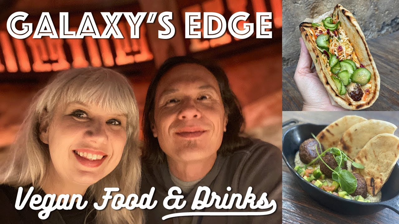 Galaxy's Edge Vegan Food and Drinks at Oga's Cantina: Stormtroopers Didn't Trust Us