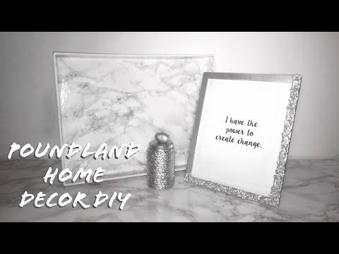 DIY | POUNDLAND/ DOLLAR STORE | HOME DECOR IDEAS