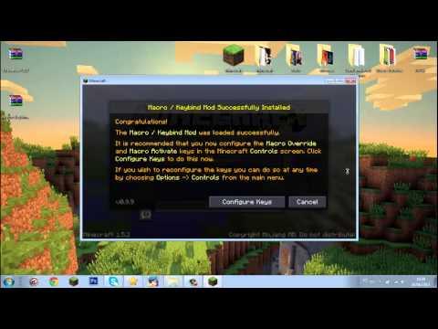 Como instalar Mod Macro Minecraft 1.5.2