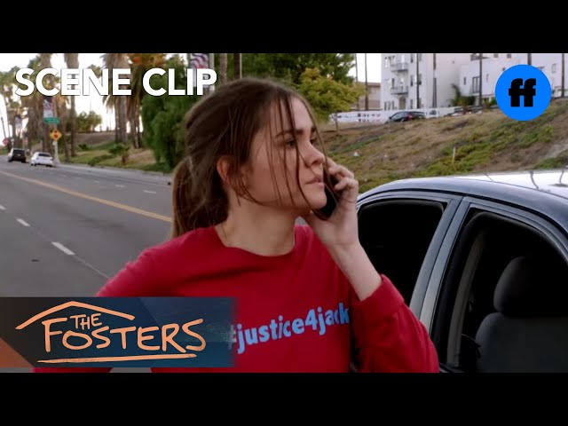 The Fosters | Season 4, Episode 11: Callie Runs from the Car Accident | Freeform