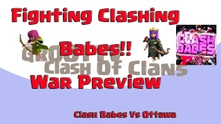 ❤️Meet The Babes Of Clash❤️ ClashBabes VS Ottawa Preview Clash On GrootTV