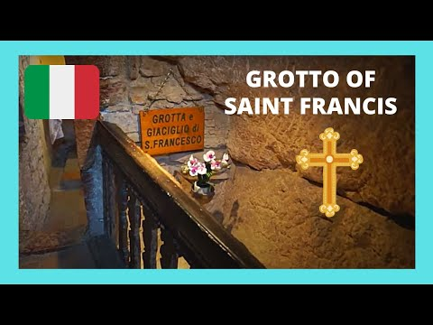 ITALY: The cave and hermitage of ST FRANCIS (SAN FRANCESCO D' ASSISI)