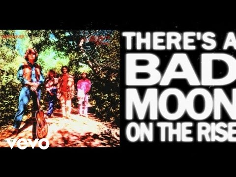 Creedence Clearwater Revival - Bad Moon Rising (Official Lyr