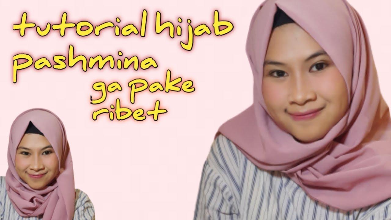 Tutorial Hijab Yg Modis | Jilbab sederhana, Wanita, Gaya hijab