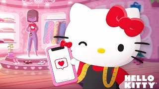 Hello Kitty Fashion Star - Hello Kitty's New Fashion Boutique - Dress Up Games For Girls