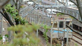 鶴舞線3000形 3116編成の2021年4月14日の午後と4月15日の様子