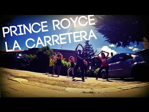 Prince Royce - La Carretera  Easy Zumba fitness choreography by Kelly Roberts