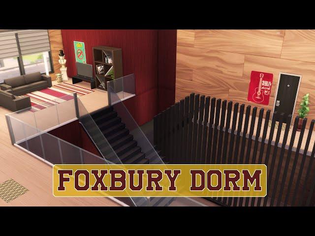 Sims 4 | House Building | Foxbury Dorm (Discover University)