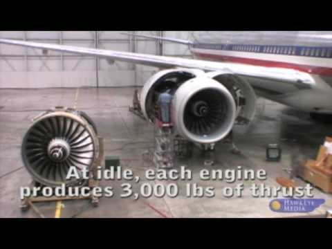 BOEING 777 ENGINE CHANGE  (TIME LAPSE)