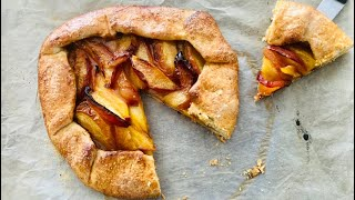 Peach Galette Recipe - Episode 477 - Baking with Eda