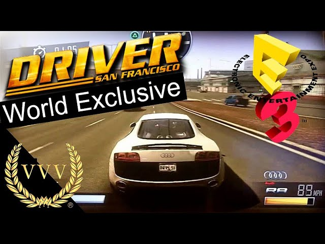 Driver E3 2011 Gameplay Footage (Exclusive)