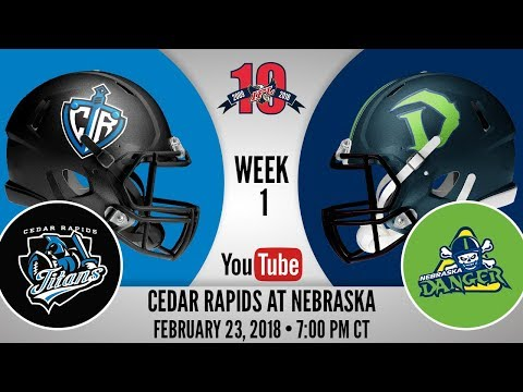 Week 1 | Cedar Rapids Titans at Nebraska Danger