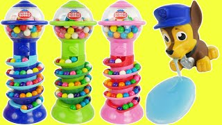 Candy preschool toys teach kids colors with slime