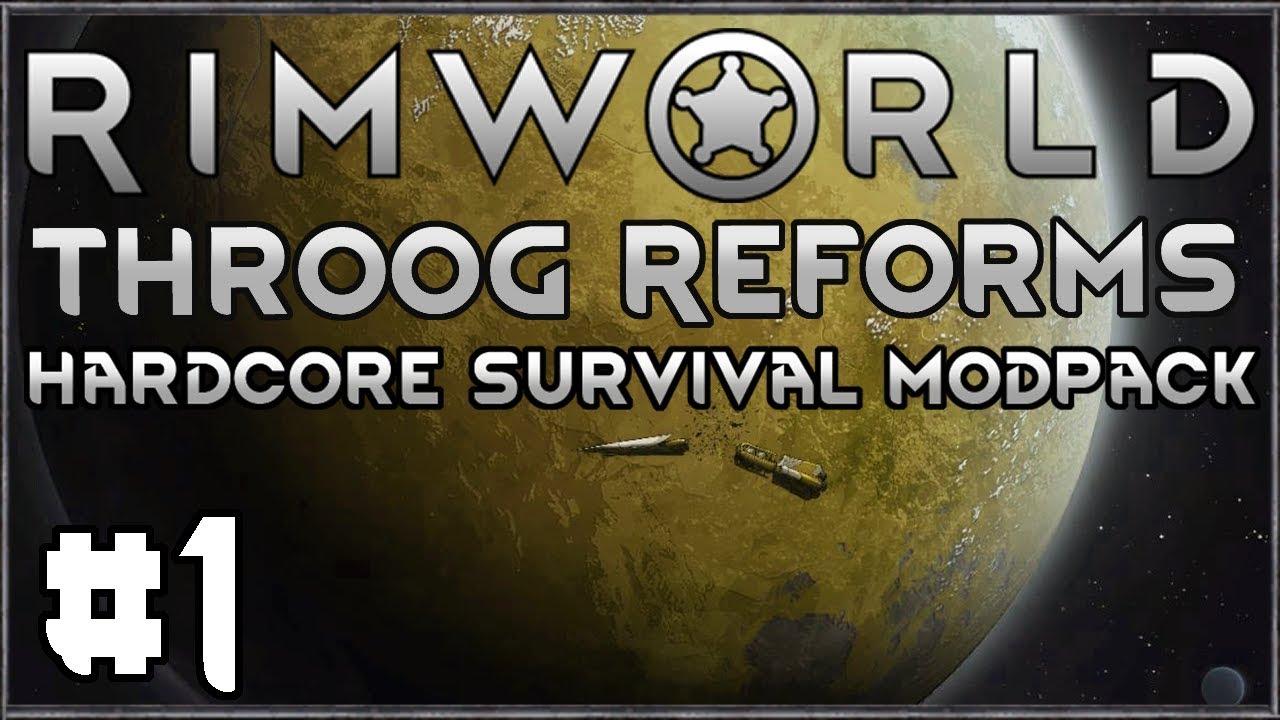 Rimworld Throog Reforms #1 - Hardcore Survival Modpack Download