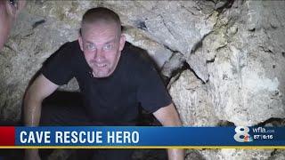 Cave Rescue hero