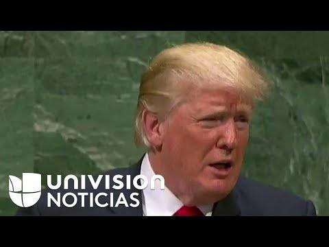 Discurso de Donald Trump ante Naciones Unidas