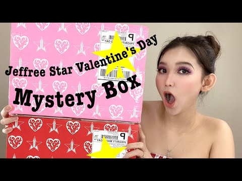 UNBOXING JEFFREE STAR VALENTINES 2020 MYSTERY BOXES |DELUXE & SUPREME