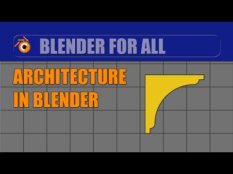 Architecture in Blender