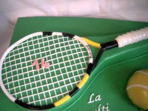 Tennis Cake Youtube