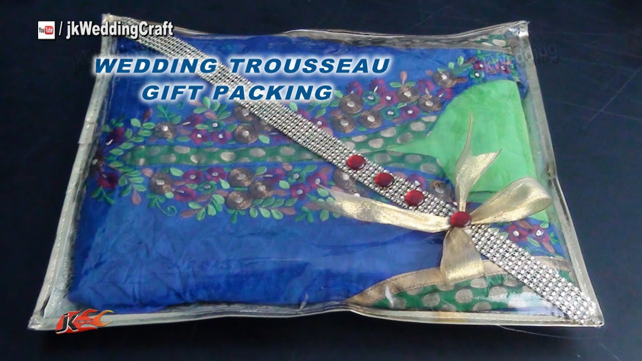 Wedding Gifts Packing Designs: Easy Gift Packing Ideas For Wedding Trousseau