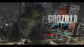 Godzilla Smash 3 Trailer HD - iOS iPhone iTouch iPod iPad Game App Gameplay