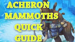 RuneScape 3: Acheron Mammoths Quick Guide