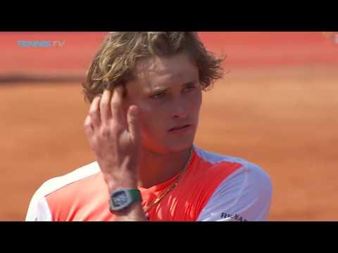 Dominic Thiem, Alexander Zverev advance | Barcelona Open 2017 Day 2 Highlights
