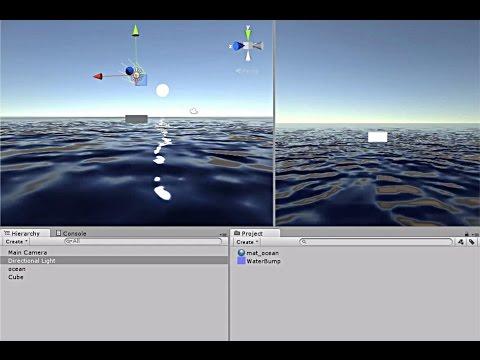 Unity 5.0 Okyanus efekti