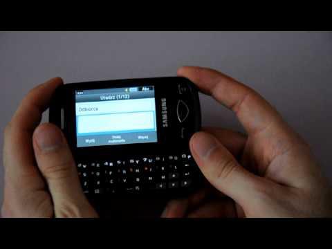 Samsung B3410 Delphi - appearance & menu