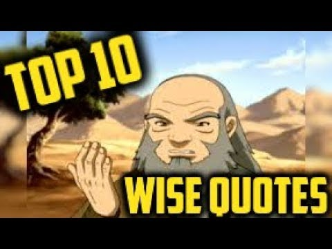 Top 10 Wise Quotes from Avatar: The Last Airbender