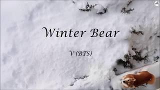 Winter Bear - KARAOKE - V (BTS)