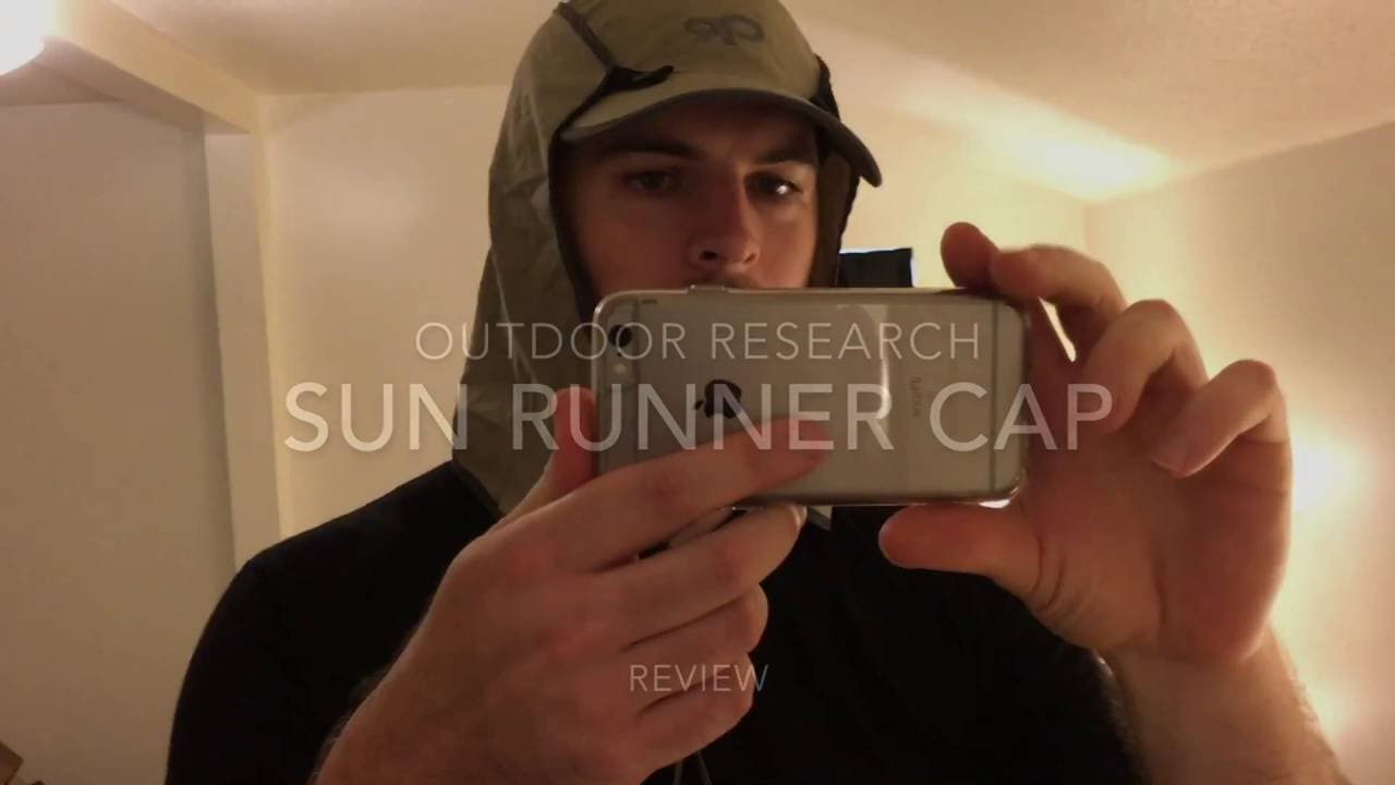 0a81078c8bc Outdoor Research Sun Runner Cap Review - YouTube