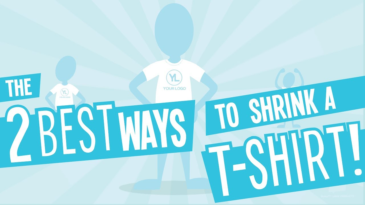 How To Shrink Your T Shirt With And Without A Dryer
