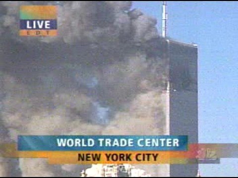 1st WTC tower collapse live - best angle (1)