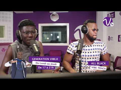 Freestyle ALL BLACK sur Vibe Radio Côte d'Ivoire