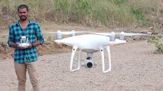 Unboxing Phantom 4 pro Drone camera in india #Helicam #ड्रोन कैमरा #कैमरा