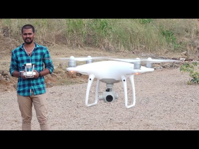 Unboxing Phantom 4 pro Drone camera in india #Helicam #ड्रोन कैमरा  #कैमरा