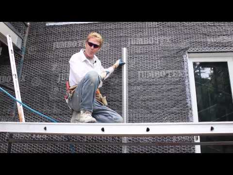 Control or expansion joints for stucco walls, lathing quick tips