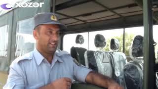 Şirvan Milli Parkında safari avtomobilləri