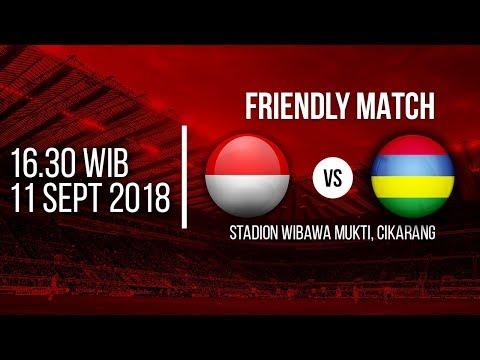 Jadwal Laga Timnas Indonesia Vs Mauritius Pukul 16.30 WIB Di RCTI