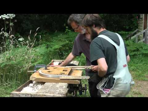 Steam Bending a Windsor Chair Bow - Paul Hayden - Greenwood Courses