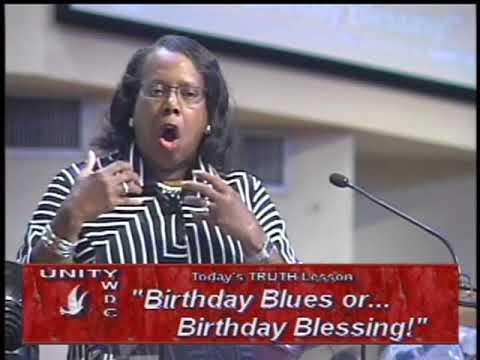Birthday Blues or…Birthday Blessing! ~ September 25, 2016