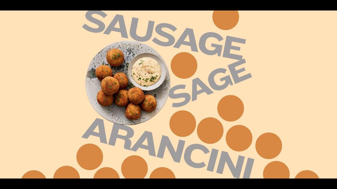 Sausage Arancini Risotto using RiceSelect® Arborio