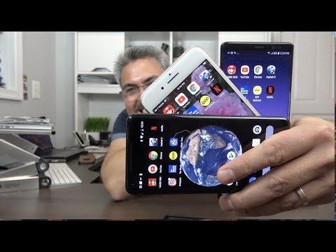 Google Pixel 2 XL vs iPhone 8 Plus versus galaxy Note 8