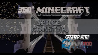 360° Minecraft Roller Coaster - Space by Bigboom_tag