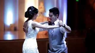 Cute Couple Does First Dance To Ed Sheeran