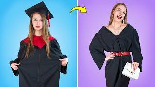 А ты готова к выпускной вечеринке Забавные бьюти советы в колледже